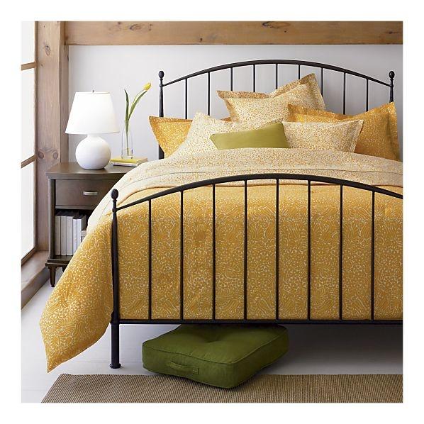 Crate And Barrel Bedroom: Porto Queen Bed @ Crate&Barrel