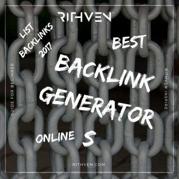 Top online backlink generators