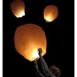 Appelées aussi Lanternes à souhaits, pour célébrer des moments inoubliables !