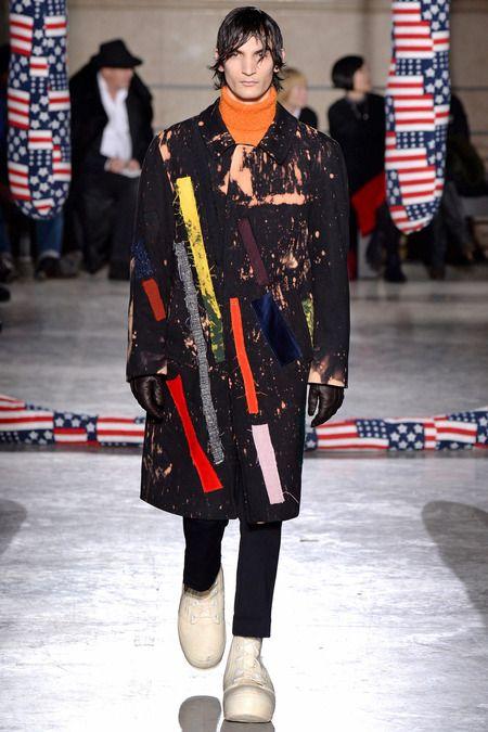 Fall 2014 Raf Simons menswear via style.com