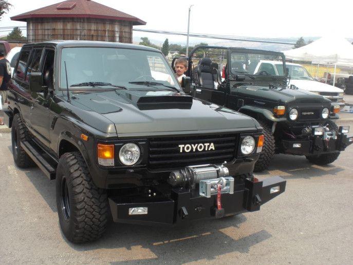 Stealth Cruiser | FJ60 | Toyota land cruiser, Toyota 4x4, Suv 4x4