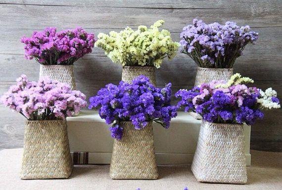 Statice boeket, droge bloem, bloemen, Valentine, speciale gelegenheden, decoratie bruiloft, gedroogd