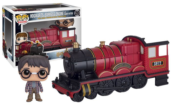 Harry Potter POP! Vinyl Figure - Harry Potter & Hogwarts Express Engine @Archonia_US