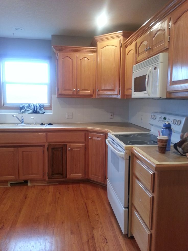 about restaining kitchen cabinets on pinterest kitchen cabinets
