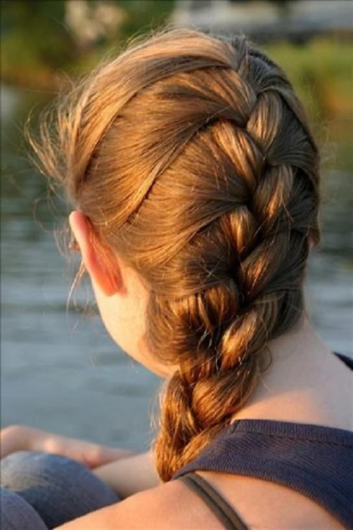 33 Fabulous French Braid Hairstyles Celebs Are Rocking | Wizzed