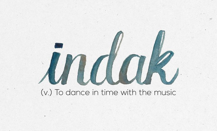 """Indak"" 