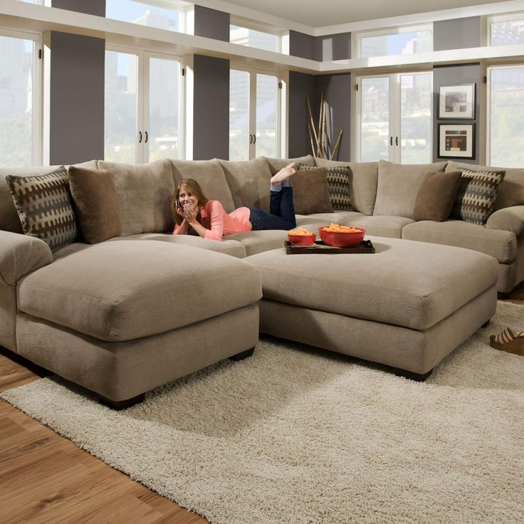 Elegant Most Comfortable Sectional Sofa With Chaise