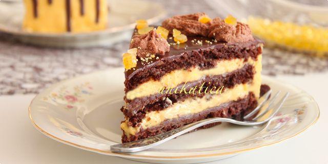 Orange-mousse torta — Coolinarika