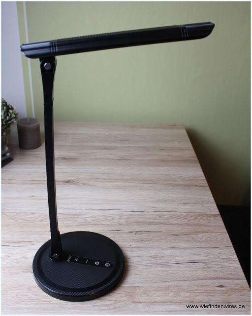 Wie finden wir es ???  : ANNT LED Schreibtischlampe - Touch - 4 Farb- und 5...