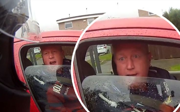 The internet has come alive after a clip of an angry northern man in his   Citroen Picasso who identifies himself as Ronnie Pickering went viral