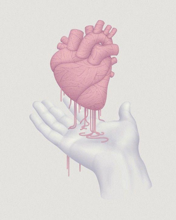 <3Well Design, Fonts Fonts, Heart, David Mcleod Heart, Heart Illustration, Digital Art, Design Typography, Art Culture, Design Design