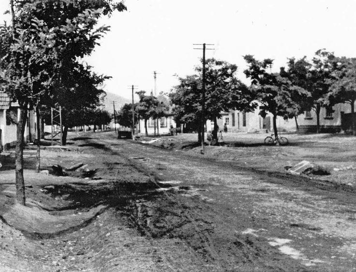 1950es èvek Bogács Alkotmány/Fő utca