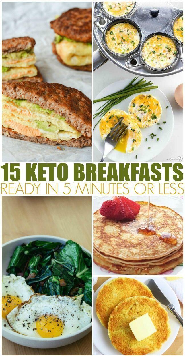 15 Keto-Frühstück in 5 Minuten oder weniger fertig