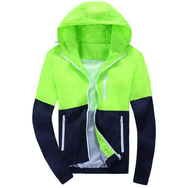 2016 Stylish Fashion High Quality Jacket Coats, Men Causal Hooded Jacket,Men Thin Windbreaker Zipper Coats Outwear