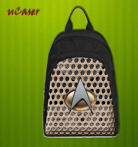 Star Trek Communicator  Custom Casual school bag, Backpack