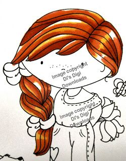 Vixykins: 2012 Promarker Tutorials - 1 - Red Hair