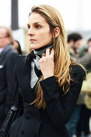 Gaia Repossi wore a Cline number to the Fall shows.