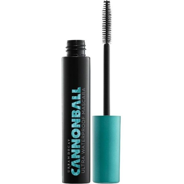 Cannonball ultra waterproof mascara ($24) ❤ liked on Polyvore featuring beauty products, makeup, eye makeup, mascara, urban decay, volumizing mascara, urban decay mascara, voluminous mascara and water proof mascara