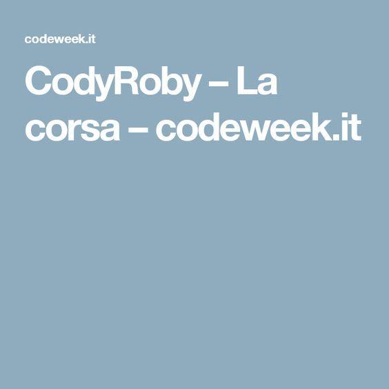 CodyRoby – La corsa – codeweek.it