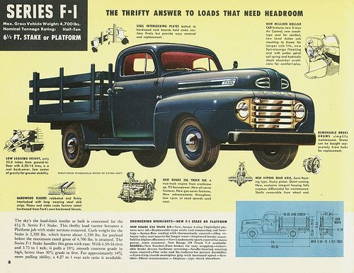 1948 Ford F-1 Stake Truck