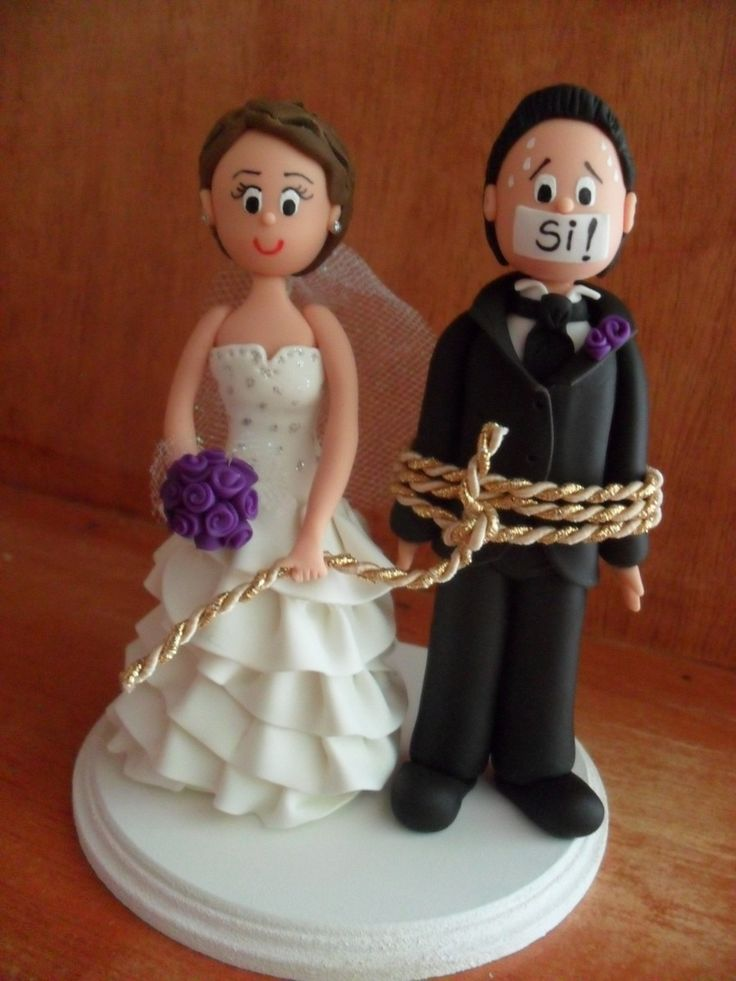 muñecos para pastel de bodas - Buscar con Google
