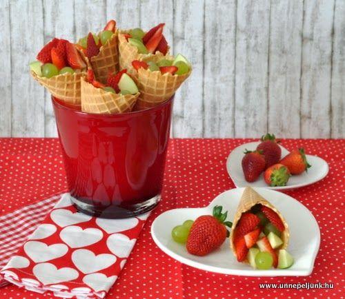 Gyors és egyszerű gyümölcsös recept