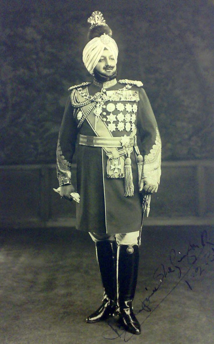 Maharajah Bhupinder Singh of Patiala
