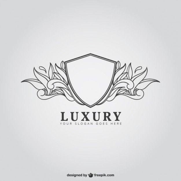 Escudo luxo Vetor grátis                                                                                                                                                                                 Mais