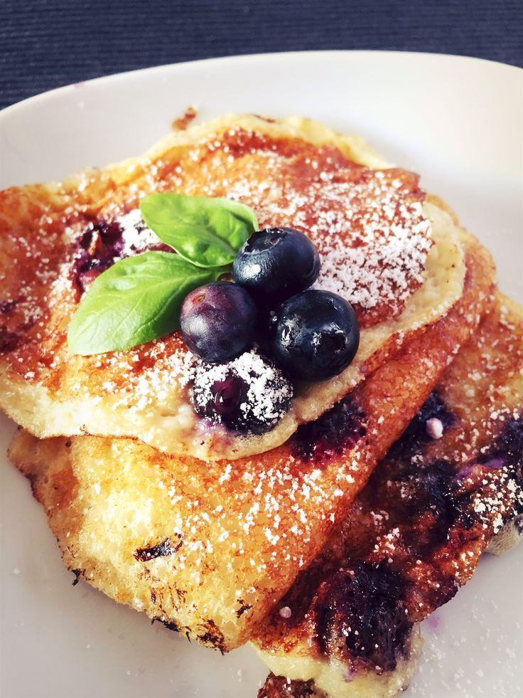 Hüttenkäse Pancake, probiert, kalt auch sehr lecker