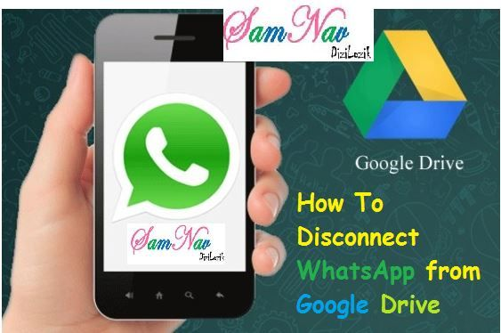 How To Disconnect WhatsApp from Google Drive