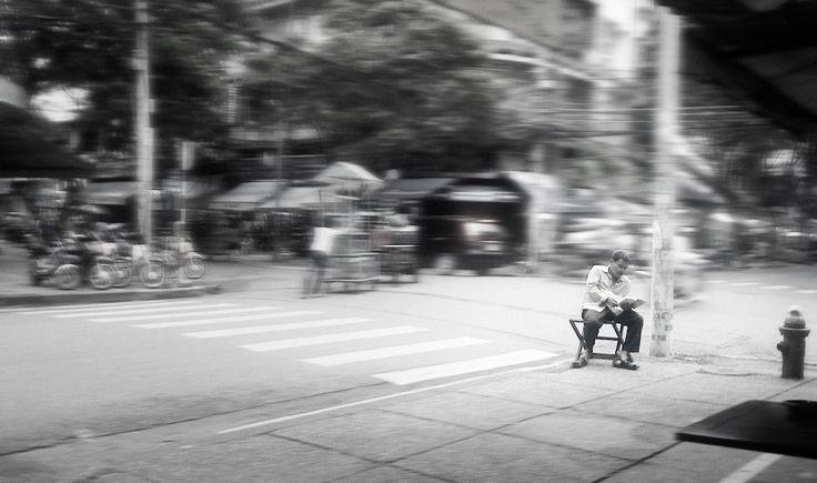 Calm Man in Saigon (HCMC), Vietnam 2010