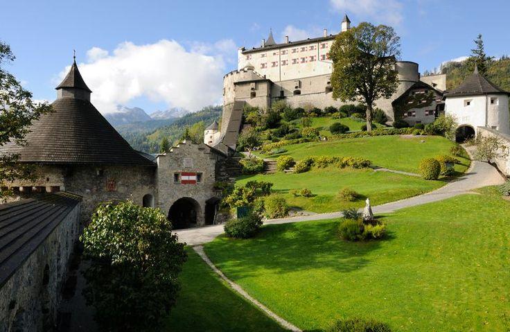 Fortress Salzburg : Castle Hohenwerfen Austria : Salzburgs Burgen und Schlösser
