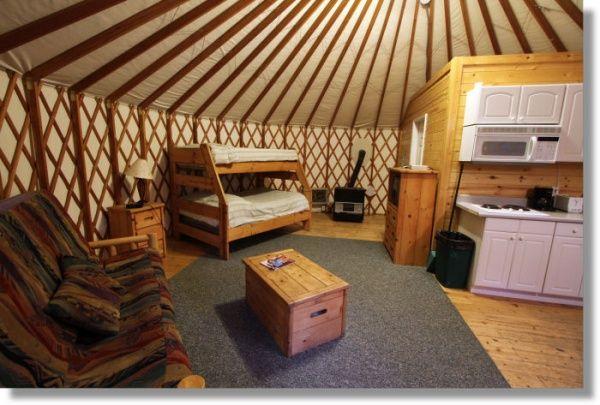 Yurt Forum - A Yurt Community - Pacific Yurts's Album: Thousand Trails Rental Yurt - Picture