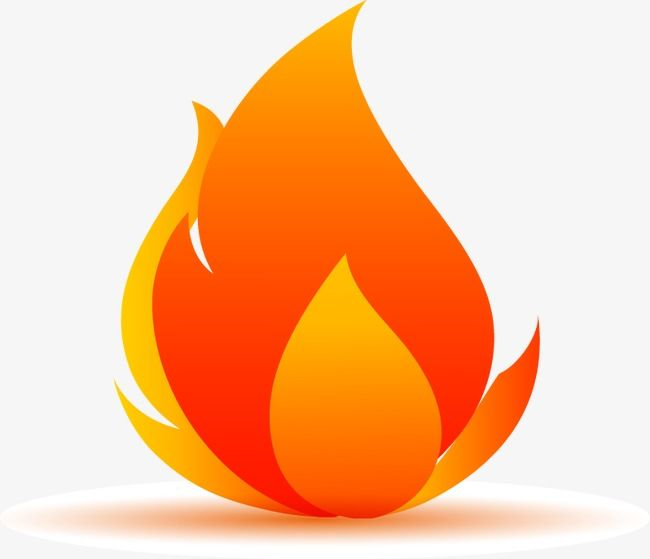 Cartoon Flame Vector Elements Fire Flame Flames Png Transparent Clipart Image And Psd File For Free Download Image Elements Cartoon