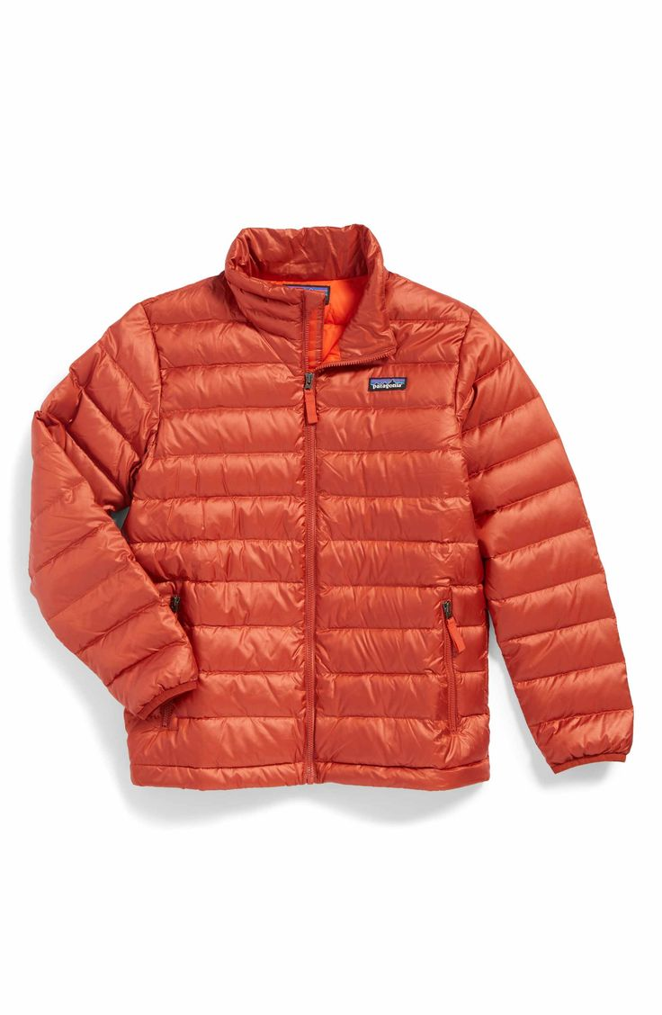 Main Image - Patagonia Down Sweater Jacket (Little Boys & Big Boys)