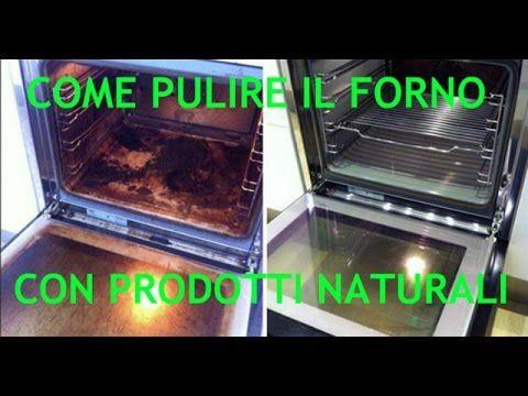 Come sgrassare il forno senza detersivi o sostanze chimiche