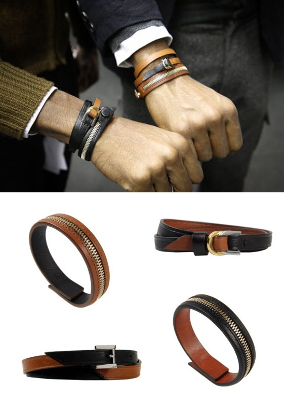 WANT LES ESSENTIELS DE LA VIE LEATHER BRACELETS | STYLESEEKER man - Personalised Style Search and Style Blog