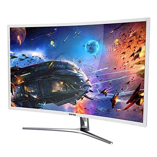 "VIOTEK NB32C 32"" LED CURVED COMPUTER MONITOR -1920 x 1080p monitor with 60hz refresh rate."