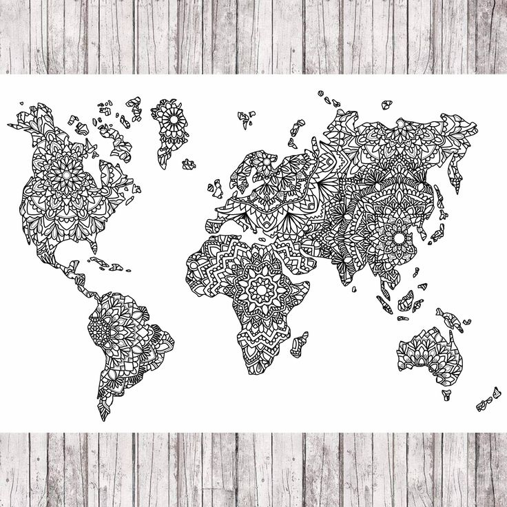 8 best art images on pinterest mandalas world maps and backdrops excited to share the latest addition to my etsy shop mandala world map http gumiabroncs Images