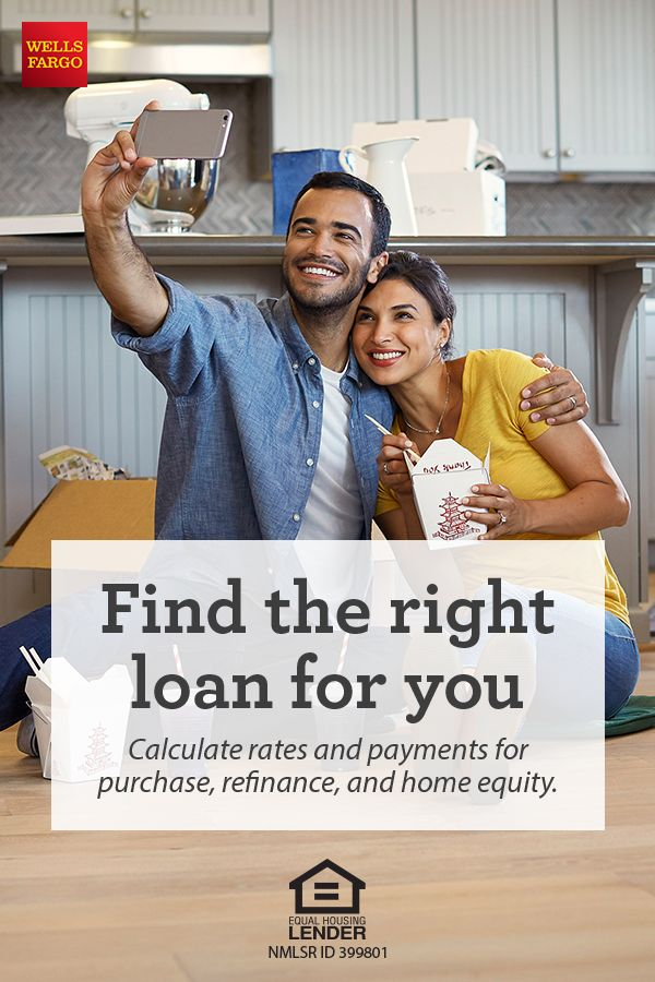 Buying a house? Estimate how much you may be able to borrow with today's mortgage rates and refinance rates. Use our Wells Fargo Mortgage Rate and Payment tool to calculate rates and payments for purchase, refinance, and home equity.