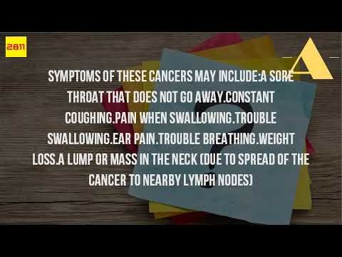 What Are The Early Signs Of Throat Cancer? - WATCH THE VIDEO   *** signs of throat cancer ***   Throat cancer symptoms & signs what are the early of throat cancer? Star2. Trouble swallowing (dysphagia) weight lossconstant need to clear your throat. Chronic cough 15 jul 2017 signs of throat cancer may be difficult to identify in the early stages...