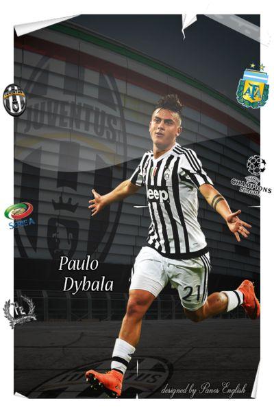 Paulo Dybala Poster by PanosEnglish.deviantart.com on @DeviantArt