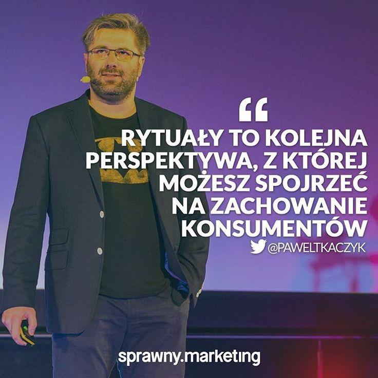 @paweltkaczyk o rytuałach!  Więcej dowiecie się na naszym #szkolenie👉🏻sprawnymarketing.pl/szkolenia