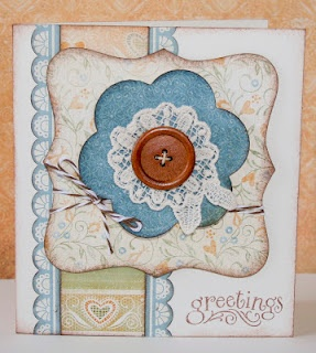 """""""Greetings"""" card.: Cards Stamping, Ctmh Inspiration, Craft Ideas Cards Scrapbooking, Cards Ctmh Close, Florentine Card, Scrapbooking Cards Artsy Stuff, Ctmh Cards, Ctmh Florentine, Heart Cards"""