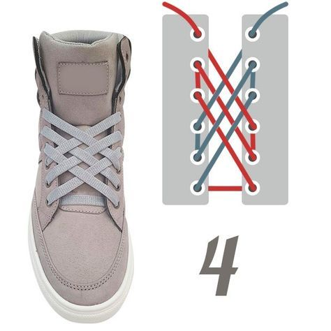 10 originales formas de amarrar agujetas