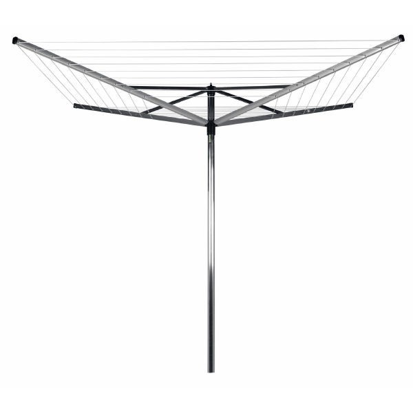 Brabantia Rotary Airer Top Spinner 50m- is ideal if you want a quality solution to drying laundry outside.