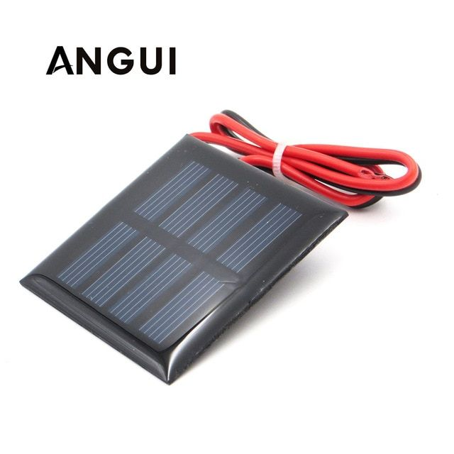 1v 1 5v 2v Solar Panel With 30cm Wire Mini Solar System Diy For Battery Cell Phone Charger 0 5w 0 45w 0 65w 0 2w 0 3w 0 Solar Cell Solar Projects Solar Panels