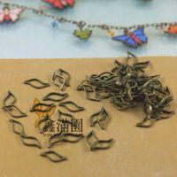 ( 2000 шт./лот ) античная бронзовая латунь металлический лист форма петли разъем прыжок кольцо урожай ювелирных изделий qy1986