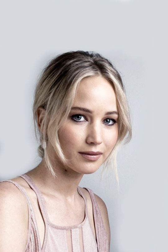 BAFTA portrait of Jennifer Lawrence