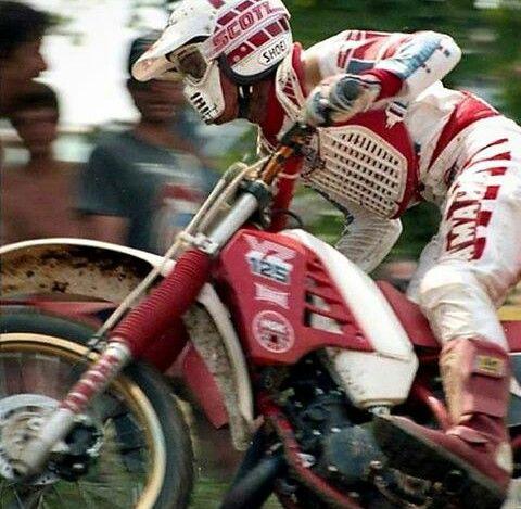 Scott Burnworth Yamaha YZ 125 1986